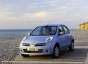 Фото авто Nissan Micra K12, ракурс: 45 цвет: голубой