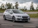 Фото авто Subaru Impreza 5 поколение, ракурс: 315 цвет: серебряный