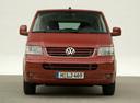 Фото авто Volkswagen Multivan T5,  цвет: красный