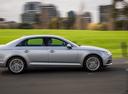 Фото авто Audi A4 B9, ракурс: 270 цвет: серебряный