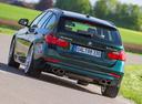 Фото авто Alpina B3 F30/F31, ракурс: 180 цвет: зеленый