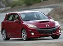 Фото авто Mazda 3 BL, ракурс: 315 цвет: красный