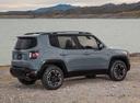 Фото авто Jeep Renegade 1 поколение, ракурс: 225 цвет: серый