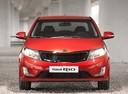 Фото авто Kia Rio 3 поколение,  цвет: красный