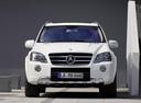 Фото авто Mercedes-Benz M-Класс W164 [рестайлинг],  цвет: белый