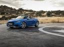 Фото авто Audi TT 8S, ракурс: 45 цвет: синий