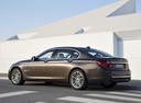 Фото авто BMW 7 серия F01/F02 [рестайлинг], ракурс: 135 цвет: коричневый