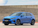 Фото авто Kia Cee'd 3 поколение, ракурс: 45 цвет: синий