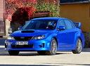 Фото авто Subaru Impreza 3 поколение [рестайлинг], ракурс: 45 цвет: синий