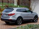 Фото авто Hyundai Santa Fe DM, ракурс: 225 цвет: серебряный