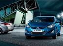 Фото авто Hyundai Elantra MD [рестайлинг], ракурс: 45 цвет: синий