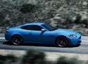 Фото авто Jaguar XK X150 [2-й рестайлинг], ракурс: 270 цвет: синий