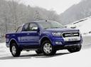 Фото авто Ford Ranger 4 поколение [рестайлинг], ракурс: 315 цвет: синий