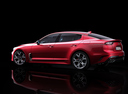Фото авто Kia Stinger 1 поколение, ракурс: 90 - рендер цвет: красный