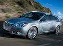 Фото авто Opel Insignia A, ракурс: 45 цвет: серебряный