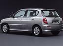 Фото авто Daihatsu Sirion 1 поколение [рестайлинг], ракурс: 135 - рендер цвет: серебряный