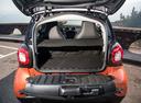 Фото авто Smart Fortwo 3 поколение, ракурс: багажник цвет: оранжевый