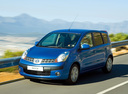 Фото авто Nissan Note E11, ракурс: 45 цвет: синий