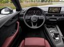 Фото авто Audi A5 2 поколение, ракурс: рулевое колесо цвет: черный
