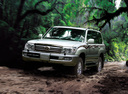 Фото авто Toyota Land Cruiser J100 [2-й рестайлинг], ракурс: 45