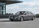 Фото авто Audi A8 D5, ракурс: 45 цвет: серый