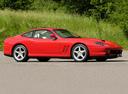 Фото авто Ferrari 550 1 поколение, ракурс: 270