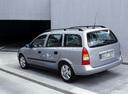 Фото авто Opel Astra G, ракурс: 135 цвет: серебряный