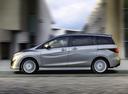 Фото авто Mazda 5 CW, ракурс: 90 цвет: серебряный