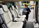 Фото авто Ford Tourneo Custom 1 поколение [рестайлинг], ракурс: задние сиденья