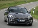 Фото авто Hyundai Genesis 1 поколение [рестайлинг],  цвет: серый