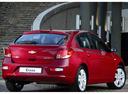 Фото авто Chevrolet Cruze J300 [рестайлинг], ракурс: 180 цвет: красный