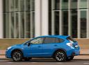 Фото авто Subaru XV 1 поколение [рестайлинг], ракурс: 90 цвет: голубой