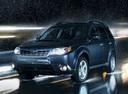 Фото авто Subaru Forester 3 поколение [рестайлинг], ракурс: 45 цвет: серый