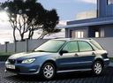 Фото авто Subaru Impreza 2 поколение [2-й рестайлинг], ракурс: 90 цвет: голубой