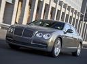 Фото авто Bentley Flying Spur 1 поколение, ракурс: 45 цвет: коричневый