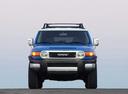 Фото авто Toyota FJ Cruiser 1 поколение,  цвет: синий