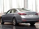 Фото авто Hyundai Genesis 2 поколение, ракурс: 135 цвет: серебряный
