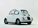 Фото авто Fiat 500 1 поколение, ракурс: 135