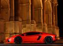 Фото авто Lamborghini Aventador 1 поколение, ракурс: 90 цвет: оранжевый