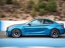 Фото авто BMW M2 F87, ракурс: 90 цвет: голубой