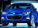 Фото авто Chevrolet Cruze 3 поколение,  цвет: синий