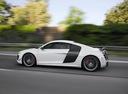 Фото авто Audi R8 1 поколение, ракурс: 90 цвет: серебряный