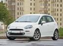 Фото авто Fiat Punto 3 поколение [2-й рестайлинг], ракурс: 45 цвет: белый