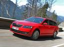 Фото авто Skoda Octavia 3 поколение, ракурс: 45 цвет: красный