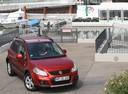 Фото авто Suzuki SX4 1 поколение [рестайлинг], ракурс: 315 цвет: красный