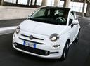 Фото авто Fiat 500 2 поколение [рестайлинг], ракурс: 45 цвет: белый