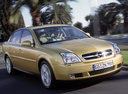 Фото авто Opel Vectra C, ракурс: 315 цвет: бежевый