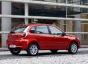 Фото авто Datsun mi-Do 1 поколение, ракурс: 270 цвет: оранжевый