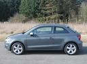 Фото авто Audi A1 8X [рестайлинг], ракурс: 90 цвет: серый