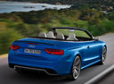 Фото авто Audi RS 5 8T [рестайлинг], ракурс: 225 цвет: голубой